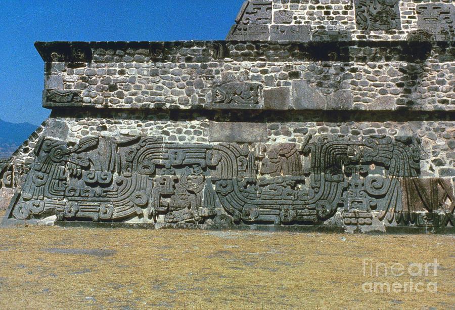 450 Photograph - Mayan Pyramid, C450 A.d by Granger