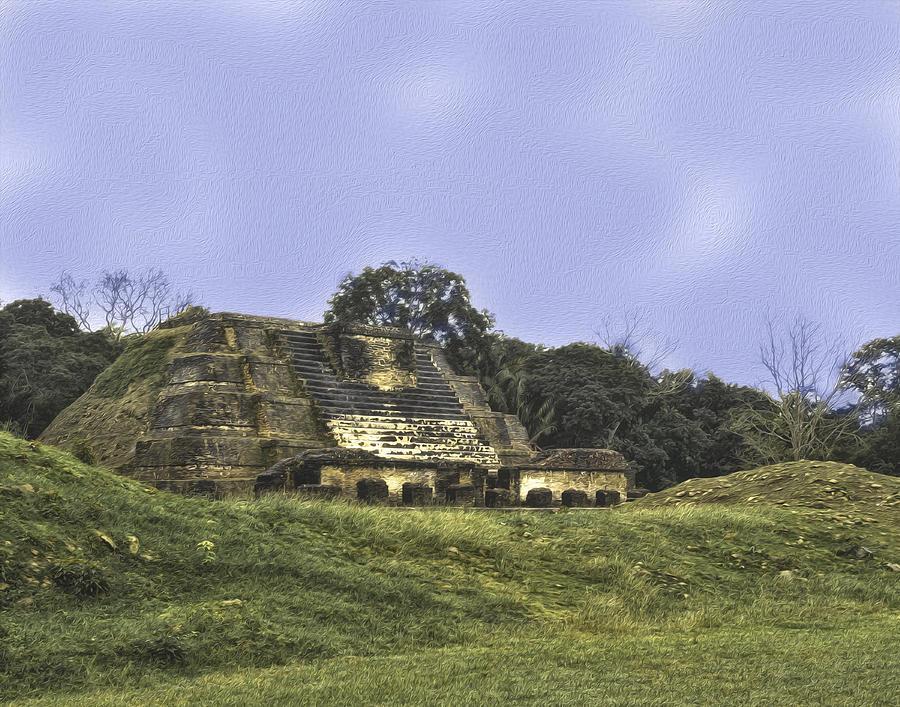 Mayan Ruins in Belize by Linda Constant