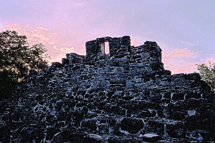 Ruins Photograph - Mayan Ruins In Cozumel Mexico by Thomas Firak