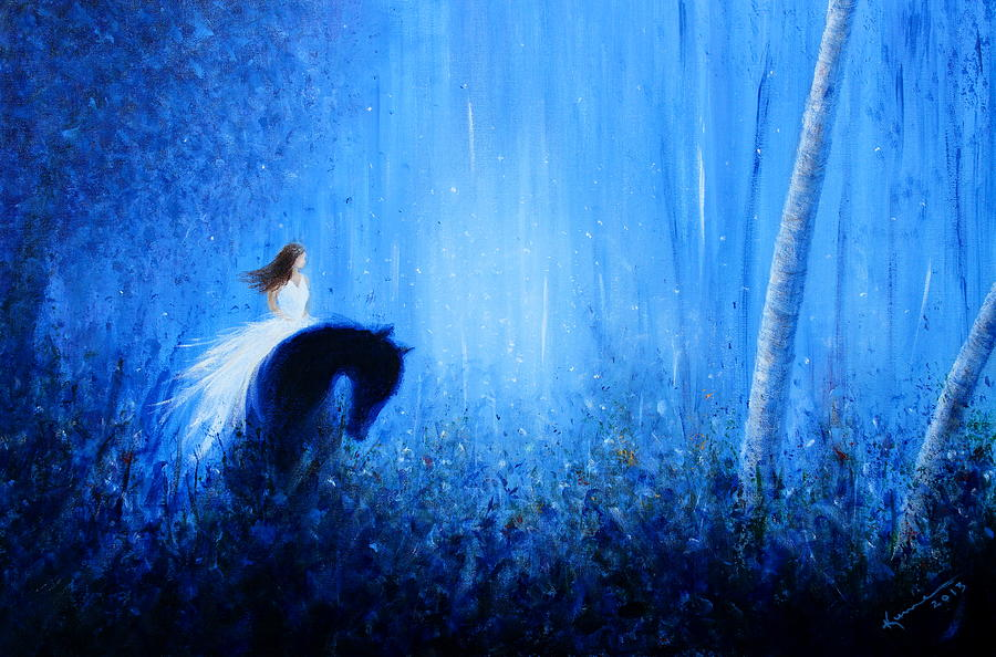 Dream Painting - Maybe A Dream by Kume Bryant