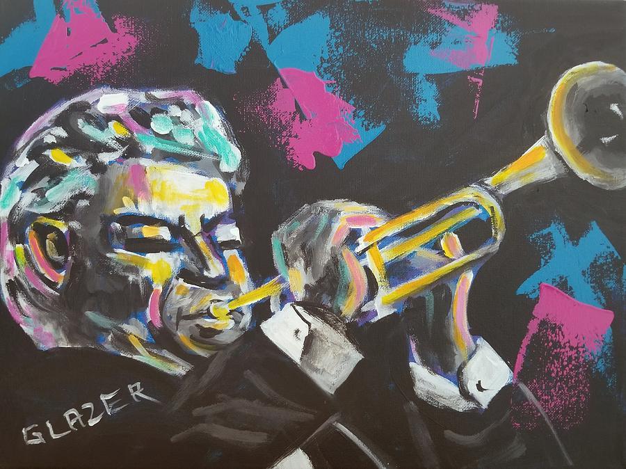 Maynard Ferguson Painting - Maynard by Stuart Glazer
