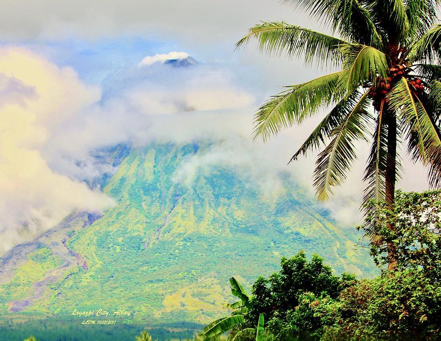 Mayon Volcano Photograph
