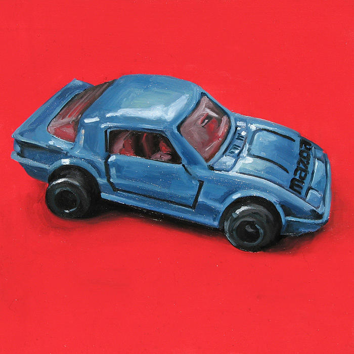 Car Painting - Mazda by Lucia Rodriguez