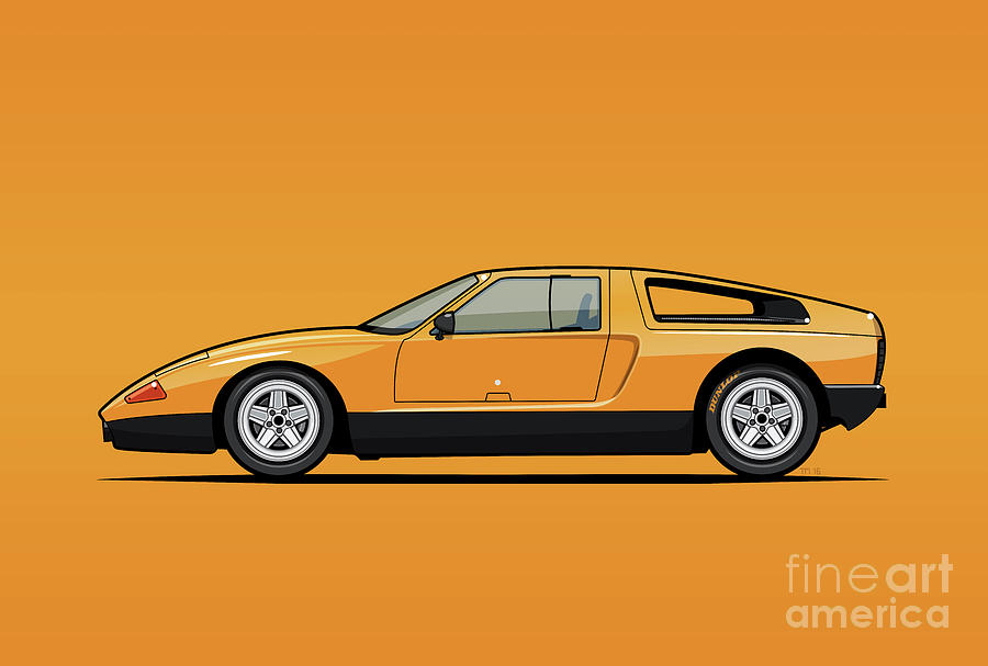 MB C111-II Concept Car by Monkey Crisis On Mars
