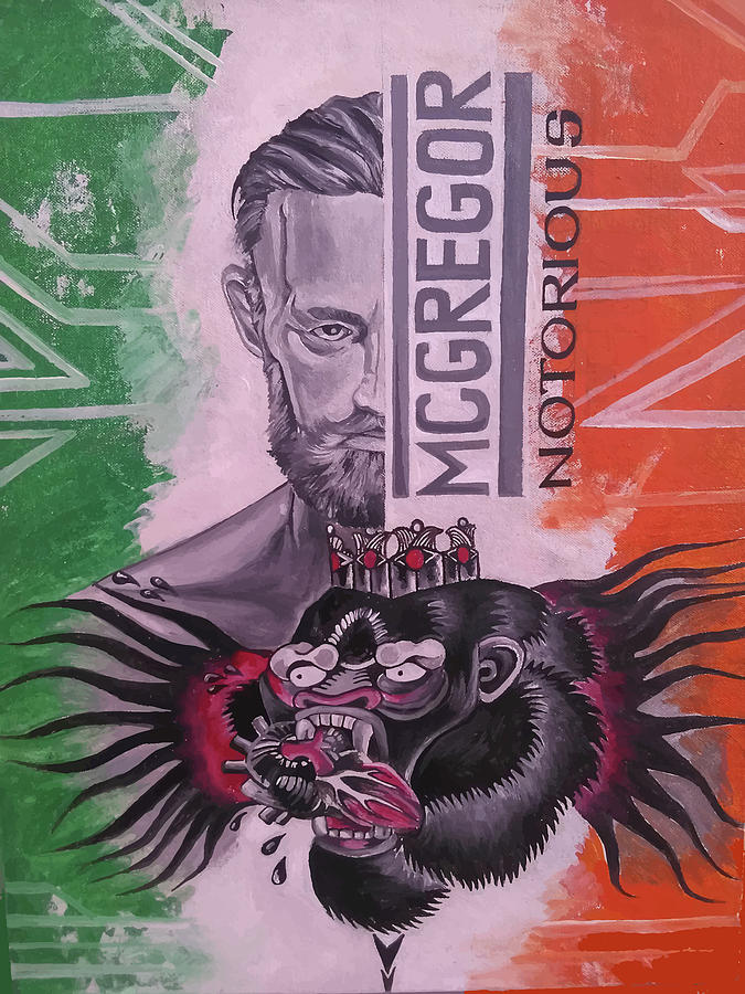 Mcgregor Digital Art - Mc Gregor The Notorious One by Lord Sushantoo