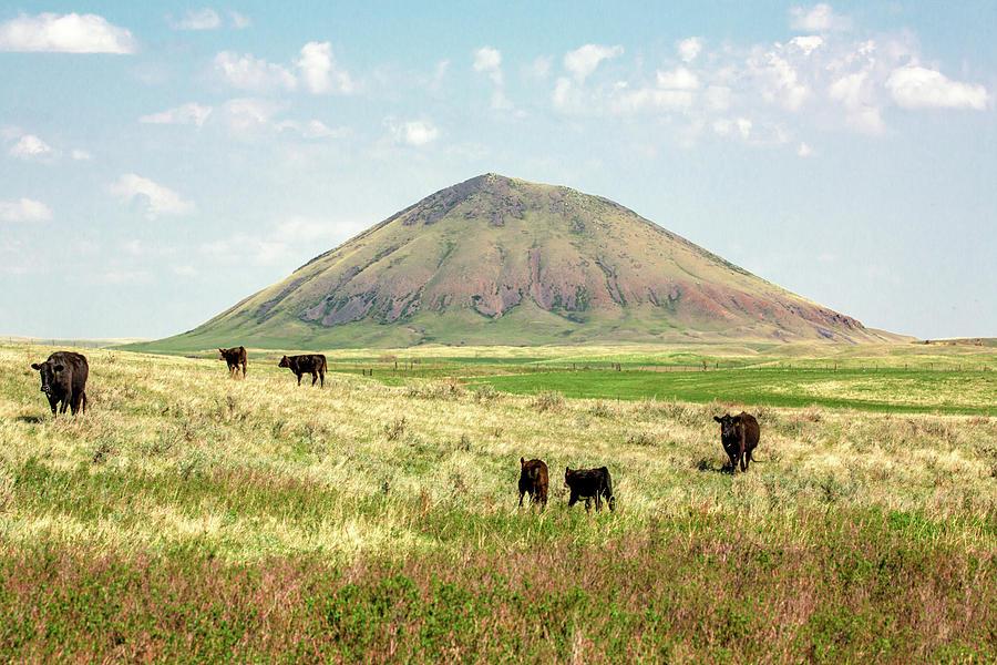 Butte Photograph - Mccann Butte by Todd Klassy