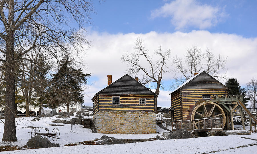 Cyrus Mccormick Photograph - Mccormick Farm 1 by Todd Hostetter