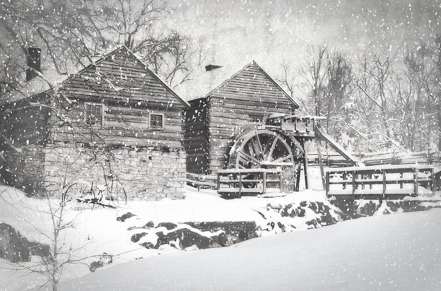 Cyrus Mccormick Photograph - Mccormicks Farm February 2012 Series Vi by Kathy Jennings