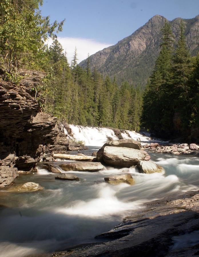 Stream Photograph - Mcdonald Creek by Marty Koch