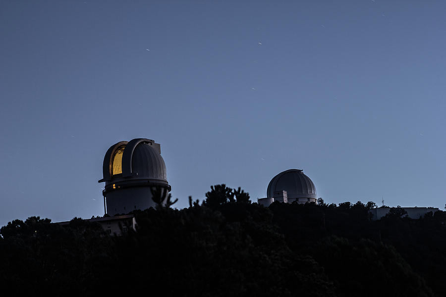 Mcdonald Observatory The Lights On Photograph