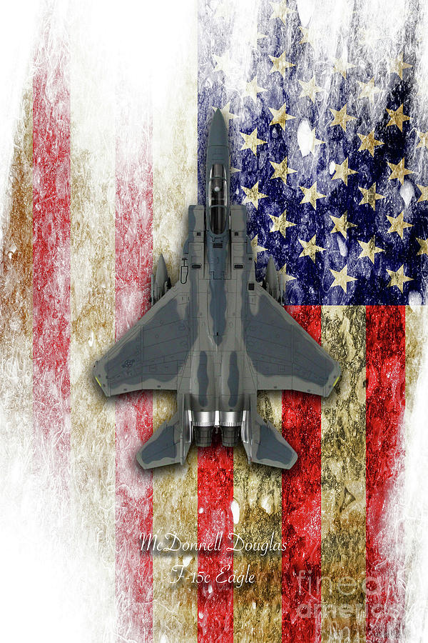 F15 Digital Art - Mcdonnell Douglas F-15c Eagle by J Biggadike