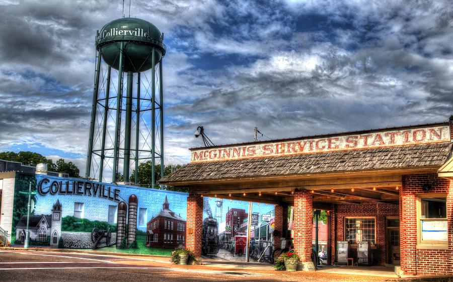 mcginnis service station at the collierville tennessee