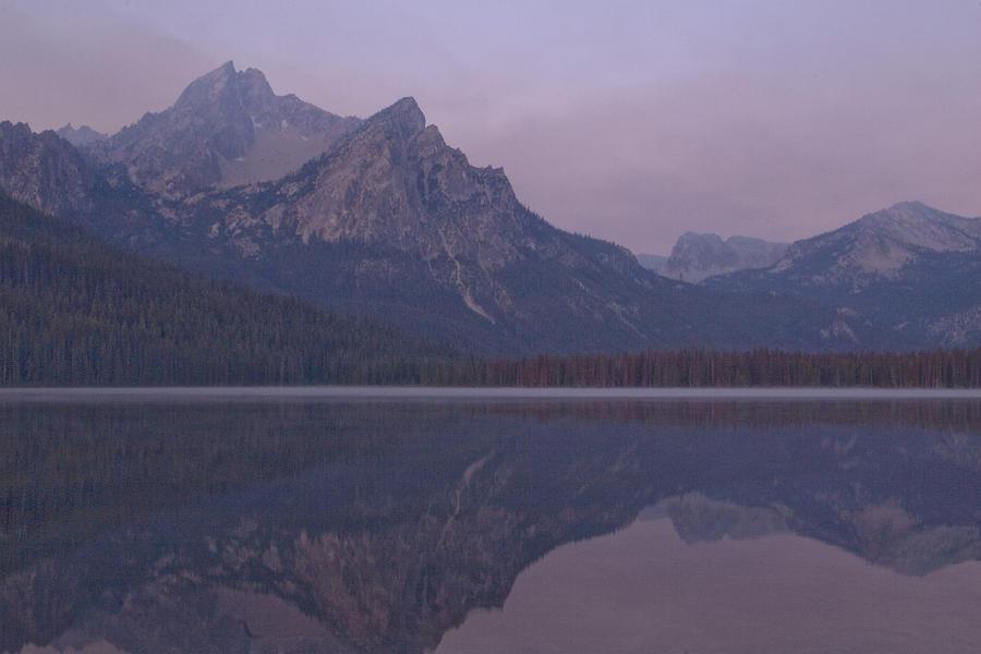 Mcgowen Peak At Sunrise Photograph by John Higby