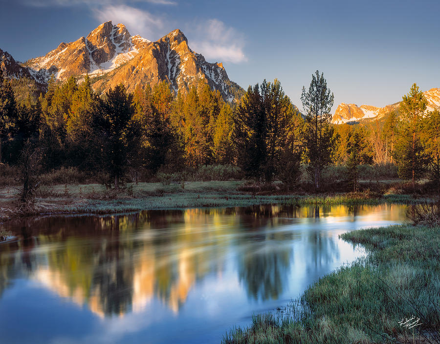 Altitude Photograph - Mcgown Peak Sunrise  by Leland D Howard