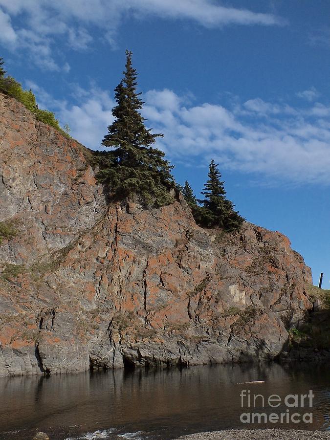 Alaska Photograph - Mchugh Falls by Heike Ward