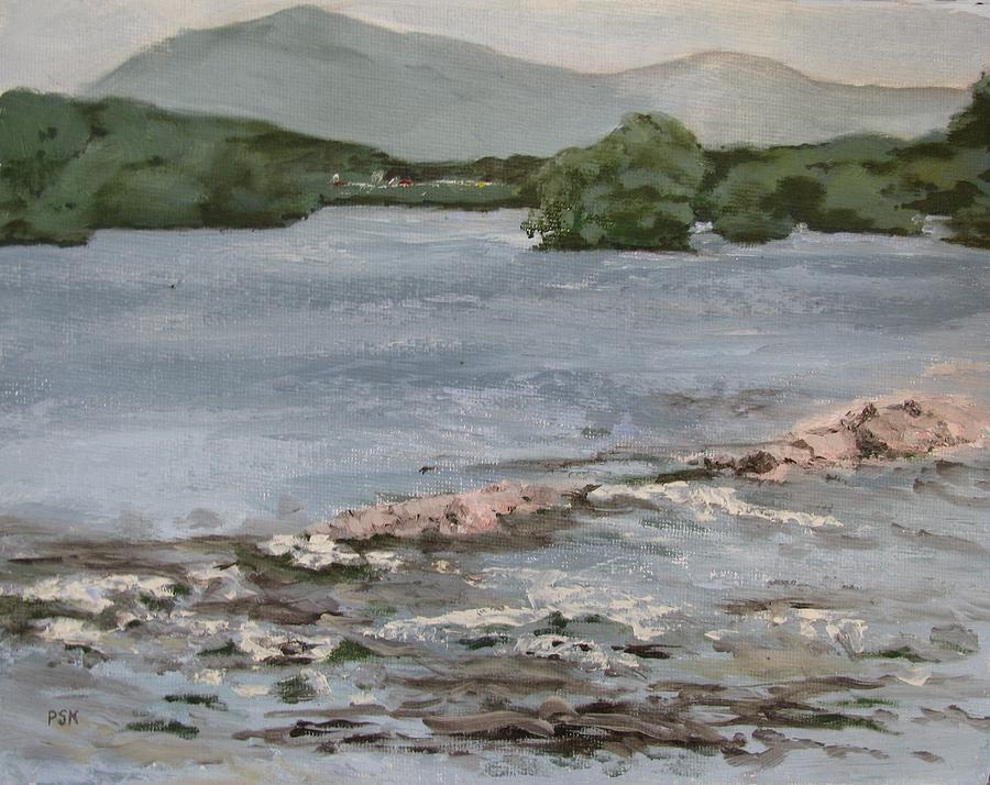 Landscape Painting - Mckees Falls by Peggy Klinger