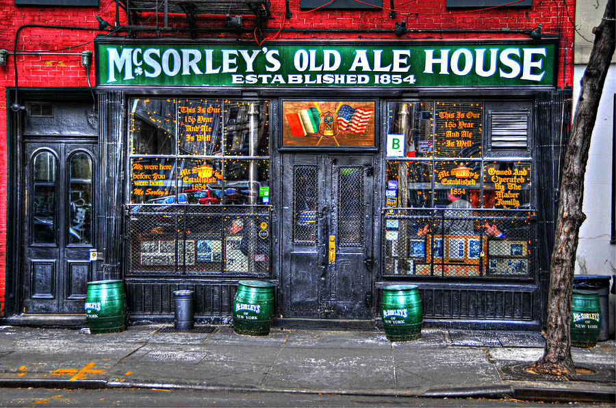 Mcsorley's Old Ale House Photograph - Mcsorleys  In Color by Randy Aveille