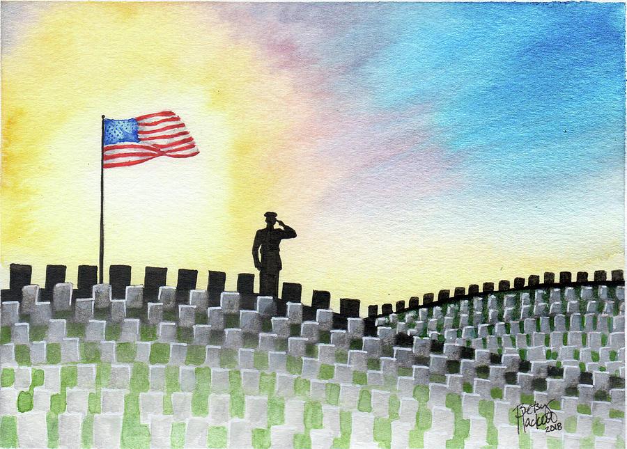 M C U Memorial Salute by Betsy Hackett