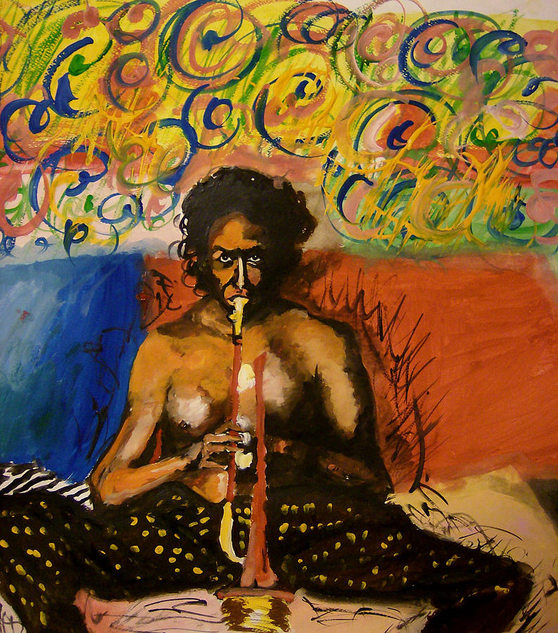 Miles Painting - md by Roxana Parje