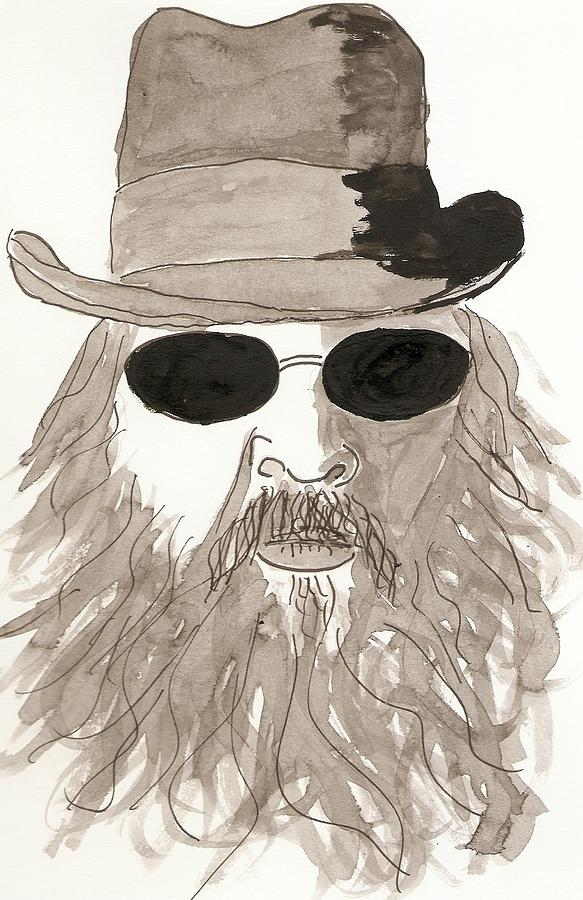 Me Drawing - me by David Sutter