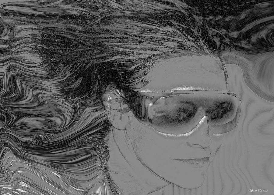 Me Photograph - Me by Linda Sannuti