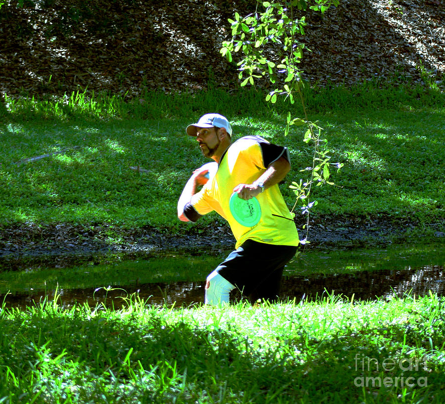 Disc Golf Photograph - Me by Marty Gayler