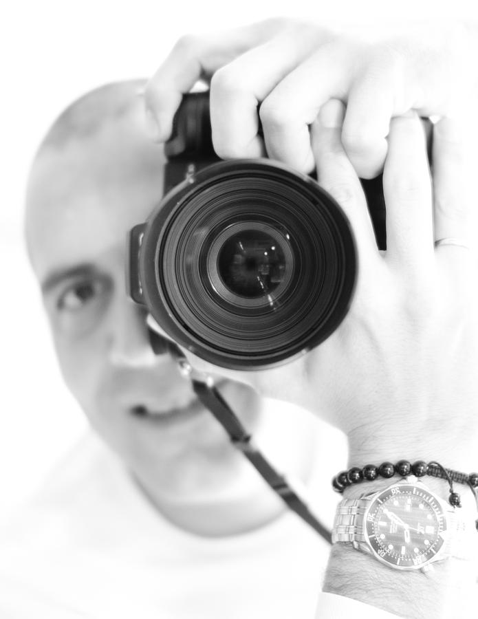 Me Photograph - Me Myself And I by Edward Myers