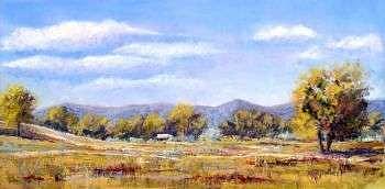 Pastel Painting - Meadow by Alisa Raines