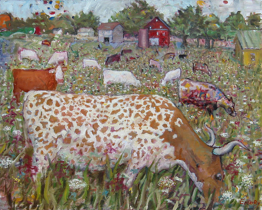 Meadow Farm Cows by Paul Emory