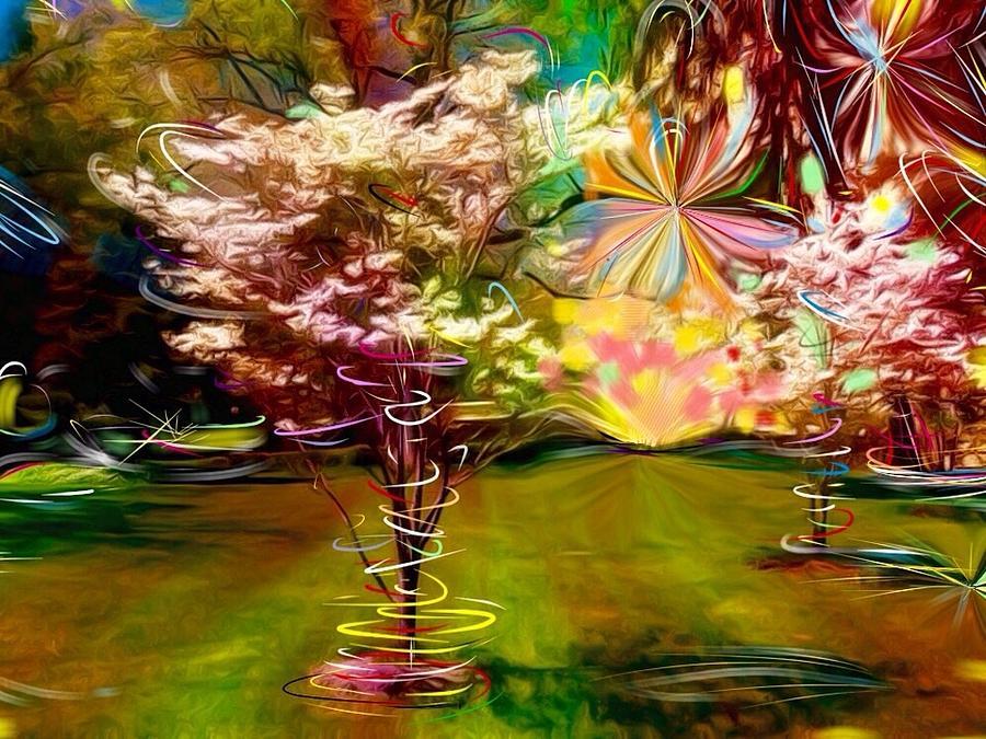 Nature Digital Art - Meadow by Jack Monninger