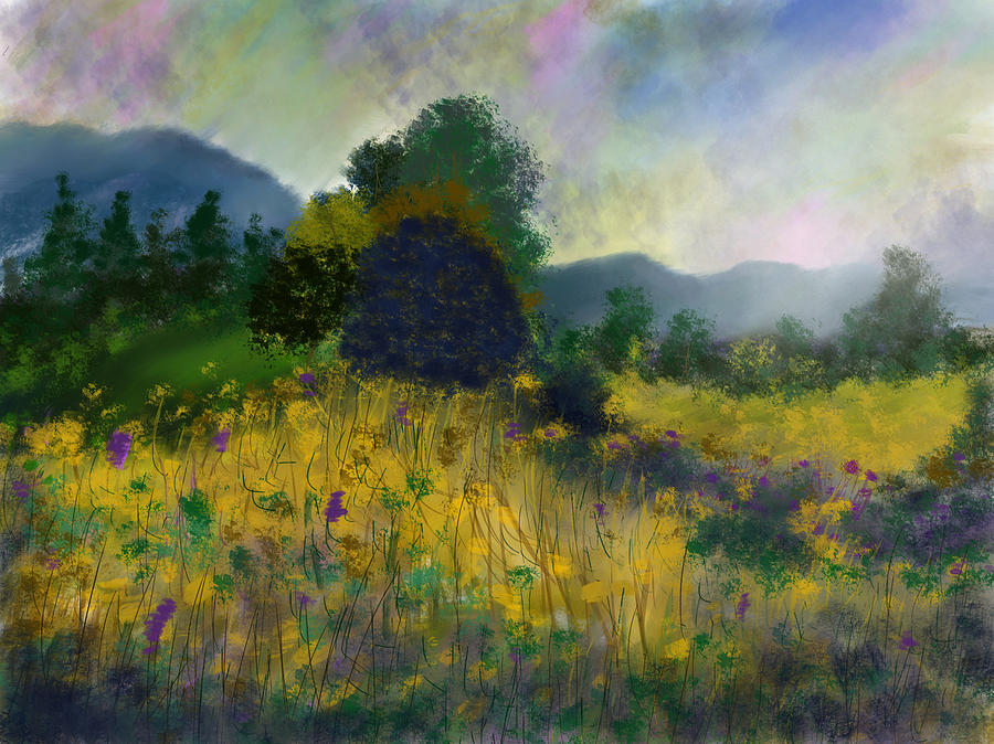 Meadow Land by Dick Bourgault
