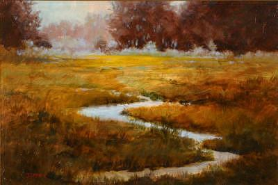 Meadowland Painting by Shirley McKay