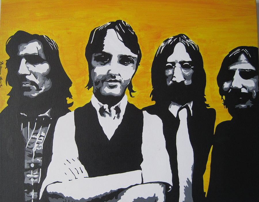 Beatles Painting - Mean Mr Mustard by Rebecca Jankowitz