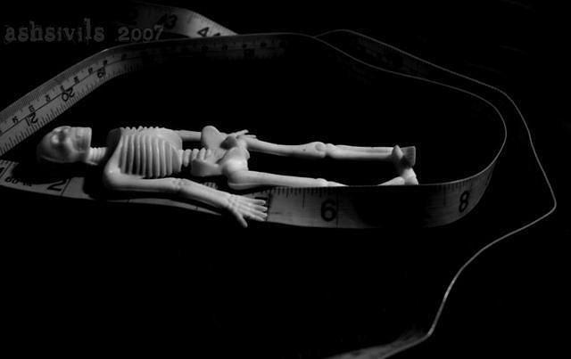Skull Photograph - Measuring Life by Ash Sivils