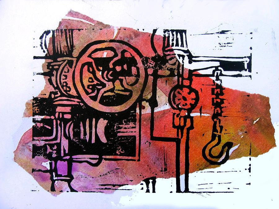 Mech Heating Up Digital Art by Adam Kissel