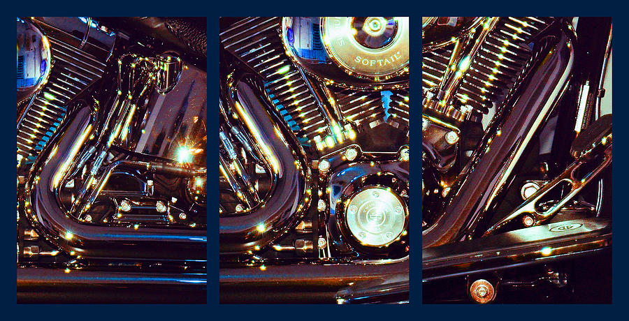 Harley Davidson Photograph - Mechanism by Steve Karol
