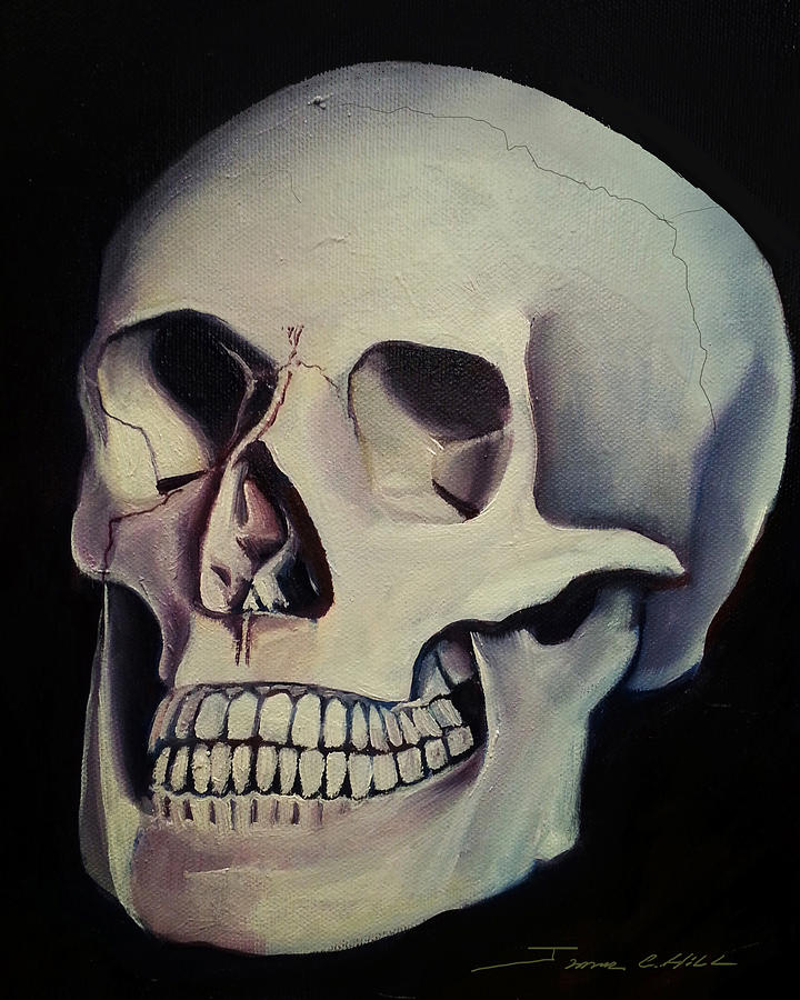 Medical Skull  by James Christopher Hill