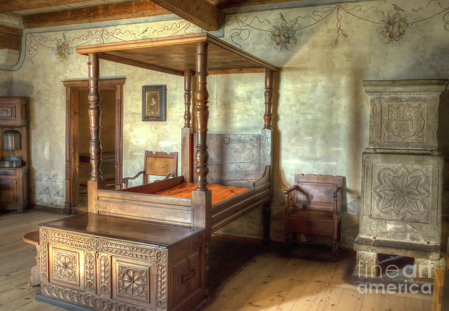 Medieval Bedroom Photograph By Michelle Meenawong
