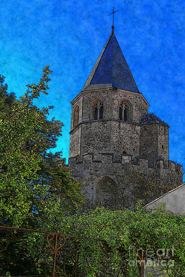 Medieval Bell Tower 1 by Jean Bernard Roussilhe