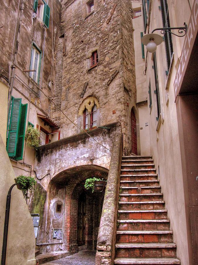Medieval Borgo in Nettuno by Jessica Tabora