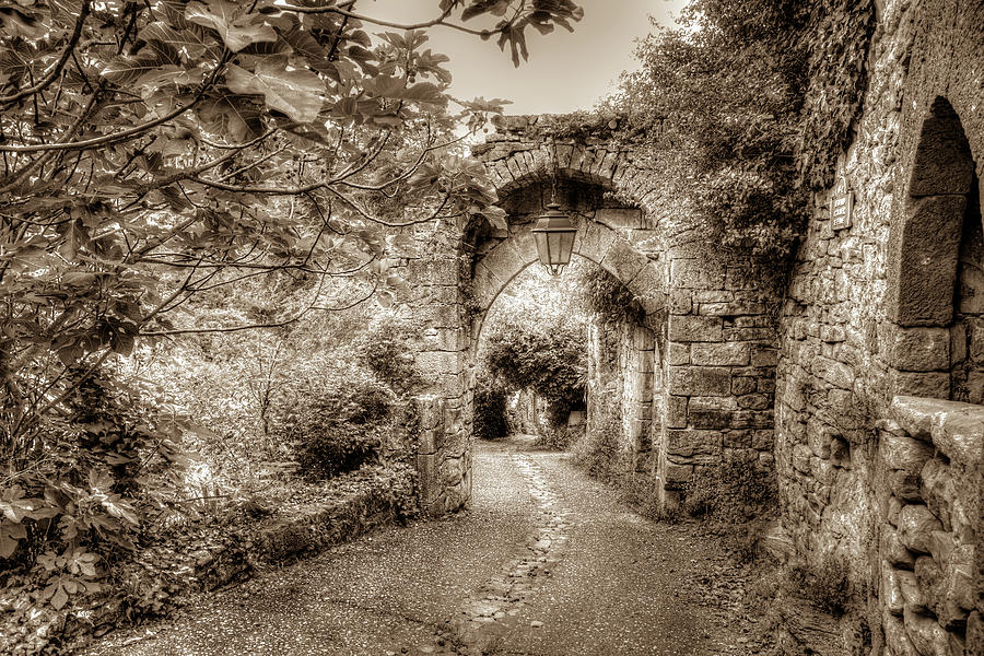 France Photograph - Medieval Gate Of Penne by W Chris Fooshee