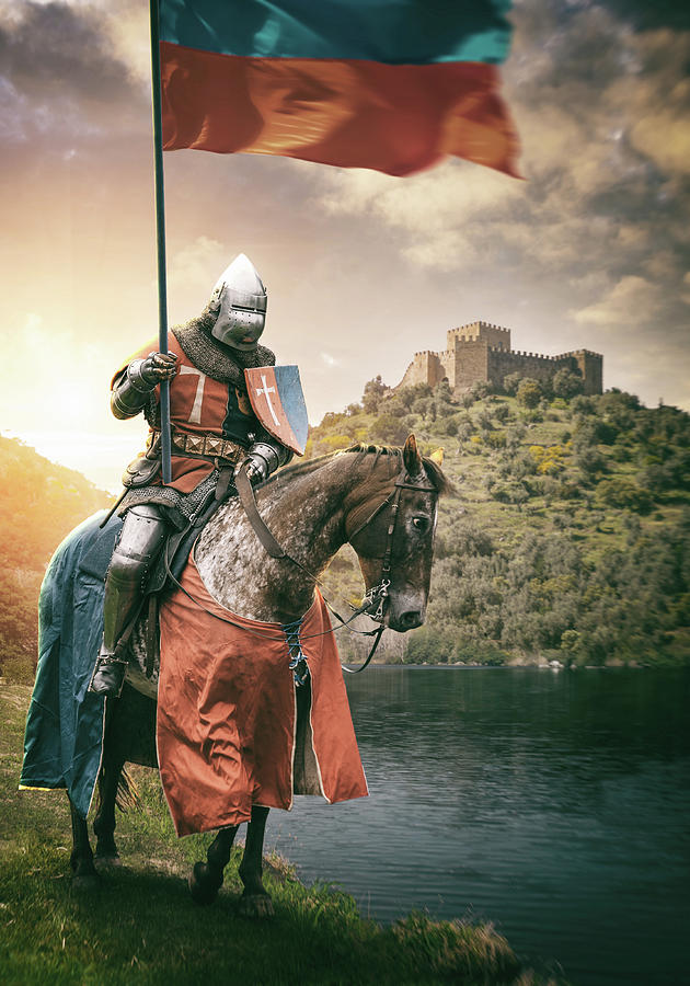 Medieval Knight 3 Digital Art by Carlos Caetano