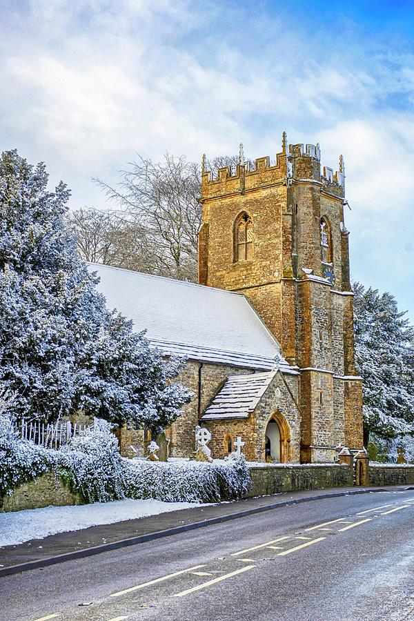 Medieval Norman Church Photograph