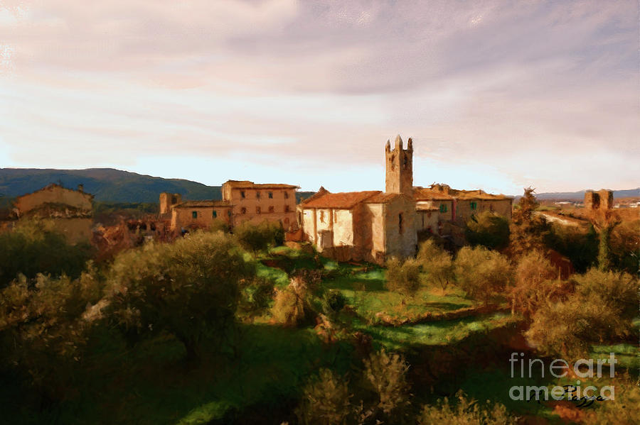 Medieval Tuscany by Rosario Piazza