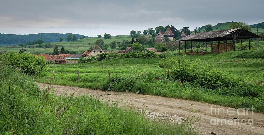 Medieval Village, Transylvania by Perry Rodriguez