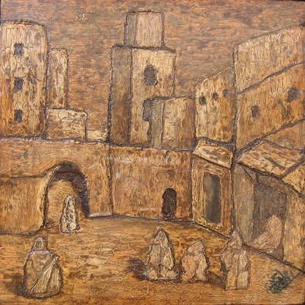 Medina 2008 Relief by Mohamed-Hosni Belkorchi