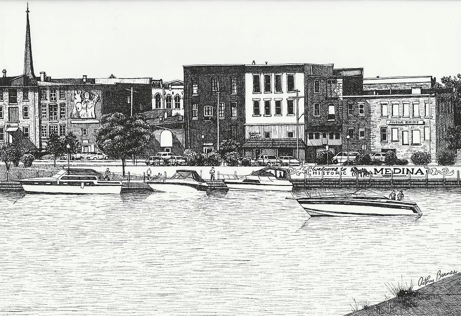 Medina New York Drawing