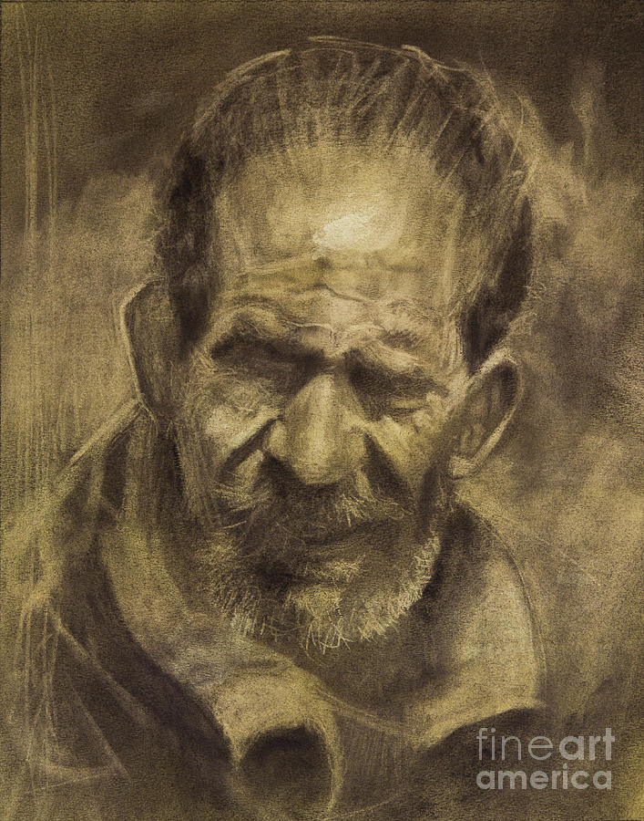 Charcoal Drawing - Medina Quick Sketch by Jonathan Wommack