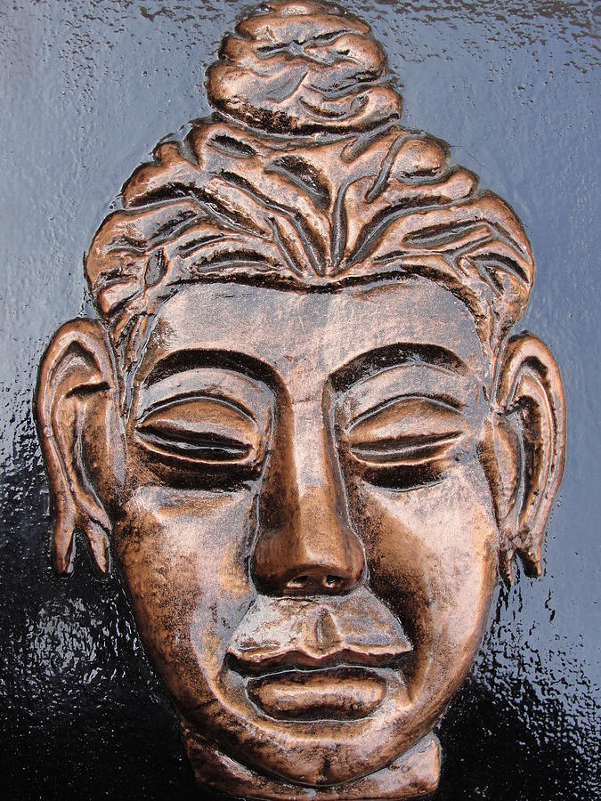 Religious Relief - Meditating Buddha by Rajesh Chopra