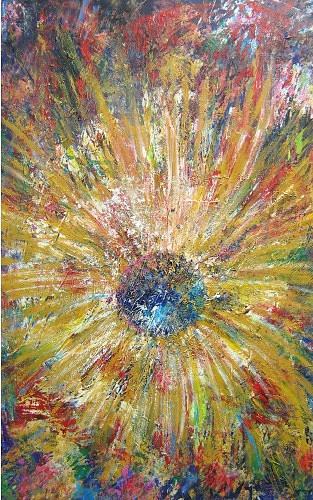 Flower Meditation Painting - Meditation by Irena Shklover